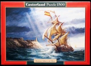 Пазл Парусник 1500 элементов Castorland