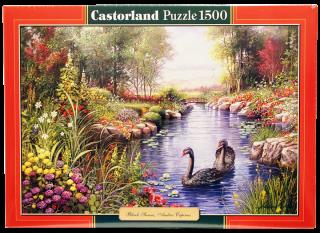 Пазл Черные лебеди 1500 элементов Castorland