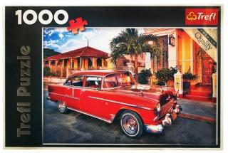 Пазл Шевроле Бэль Эр Олдтаймер, Куба 1000 элементов Trefl