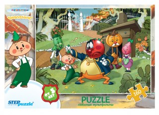 Пазл Чиполлино! 160 элементов Step Puzzle