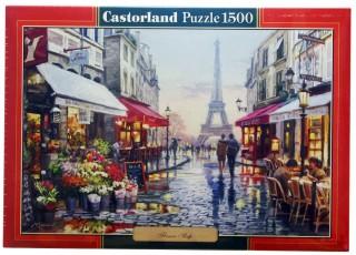 Пазл Цветочный магазин 1500 элементов Castorland