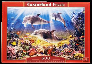 Пазл Дельфины 500 элементов Castorland