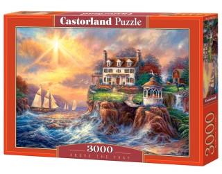Пазл Дом на берегу 3000 элементов Castorland