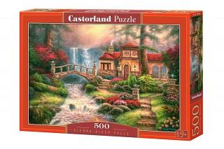 Пазл Дом у водопада 500 элементов Castorland