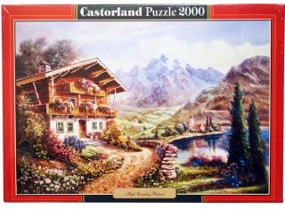 Пазл Дом в горах 2000 элементов Castorland