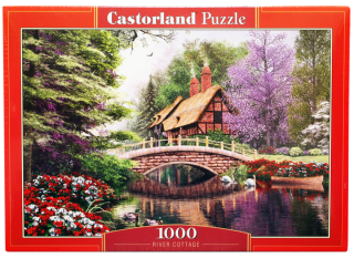 Пазл Дом у реки 1000 элементов Castorland