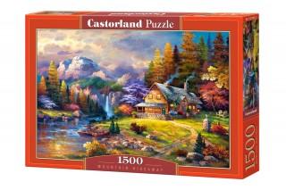 Пазл Домик в горах 1500 элементов Castorland