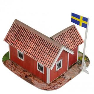 Шведский домик Умная бумага