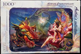 Пазл Дракон и Фея 1000 элементов Step Puzzle