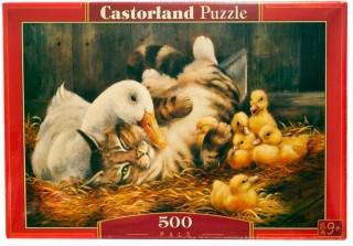 Пазл Друзья 500 элементов Castorland