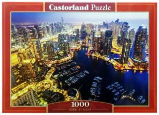 Пазл Дубай ночью 1000 элементов Castorland