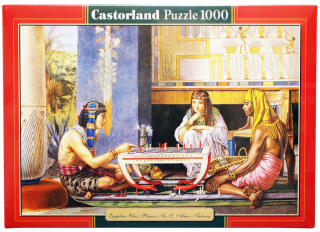 Пазл Египетские шахматисты Castorland