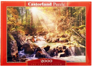 Пазл Лесной ручей 2000 элементов Castorland