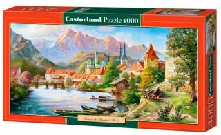 Пазл Город в тени гор 4000 элементов Castorland