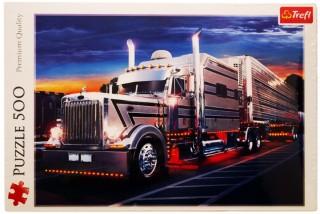 Пазл Серебряный грузовик 500 элементов Trefl