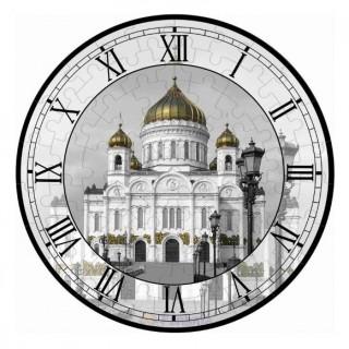 Часы-пазл Храм Христа Спасителя Умная бумага