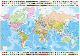 Пазл Карта мира Educa