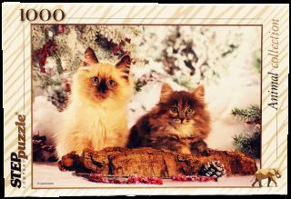 Пазл Кошки 1000 элементов Step Puzzle