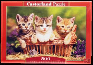 Пазл Три котенка 500 элементов Castorland