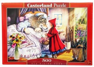 Пазл Красная шапочка 500 элементов Castorland