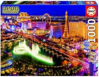 Пазл Неоновый Лас-Вегас со свечением в темноте