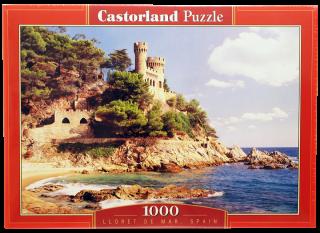 Пазл Ллорет де Мар Испания 1000 элементов Castorland