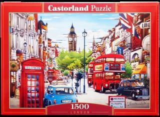 Пазл Лондон 1500 элементов Castorland
