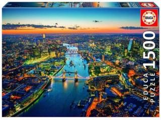 Пазл Лондон с высоты птичьего полета Educa