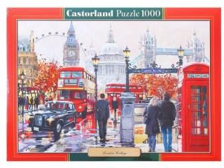 Пазл Коллаж Лондон 1000 элементов Castorland