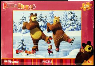 Пазл Маша и Медведь 260 элементов Step Puzzle