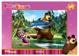 Пазл Маша и Медведь 160 элементов Step Puzzle