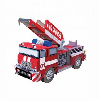 Пожарная машина Умная бумага