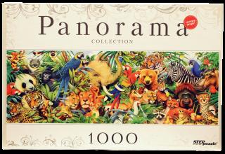 Пазл Мир животных 1000 элементов Step Puzzle
