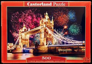 Пазл Тауэрский мост 500 элементов Castorland