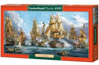 Пазл Морской бой 4000 элементов Castorland