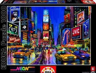 Пазл Times Square Нью Йорк со свечением в темноте