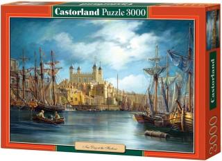 Пазл Новый день в гавани 3000 элементов Castorland