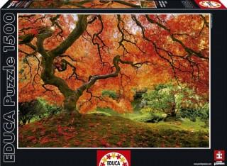 Пазл Осень в японском саду Educa