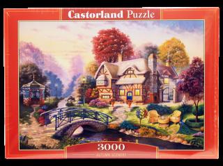 Пазл Осенний пейзаж 3000 элементов Castorland
