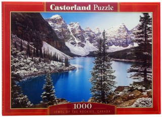 Пазл Озеро Канада 1000 элементов Castorland