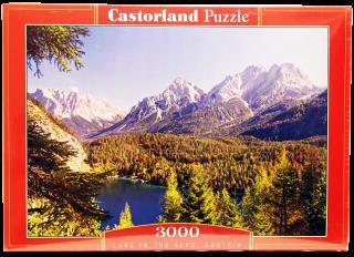 Пазл Озеро в Альпах 3000 элементов Castorland