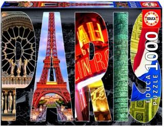 Пазл Париж, коллаж Educa