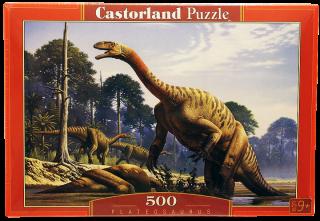 Пазл Динозавры 500 элементов Castorland