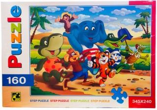 Пазл По дороге с облаками 160 элементов Step Puzzle