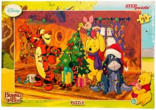 Пазл Медвежонок Винни Праздник 160 элементов Step Puzzle