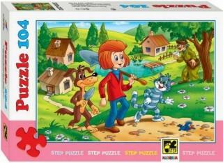 Пазл Простоквашино 104 элемента Step Puzzle