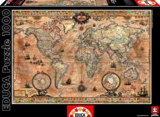 Пазл Античная карта мира Educa