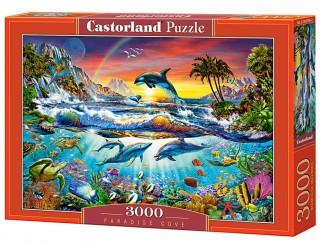 Пазл Райская бухта 3000 элементов Castorland