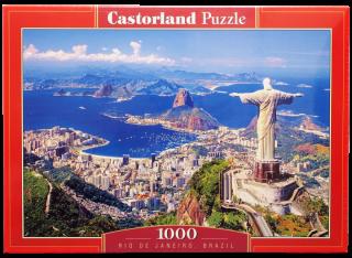 Пазл Рио-Де-Жанейро 1000 элементов Castorland