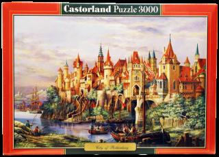 Пазл Город 3000 элементов Castorland